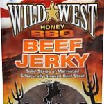Wild West Beef Jerky Honey BBQ, 85 g