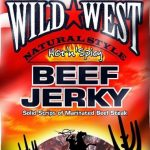Wild West Beef Jerky Hot and Spicy, 85 g
