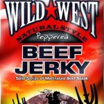 Wild West Beef Jerky Peppered, 85 g