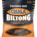 Cruga Beef Biltong Peppered, 90g