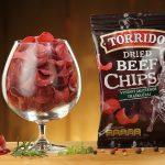 Torrido Premium Beef Chips, 35g