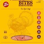 Bullseye Meats Turkey Jerky Bites Sage & Onion, 50g