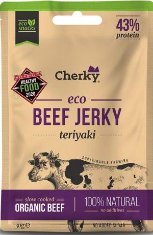 Cherky ECO beef jerky teriyaki